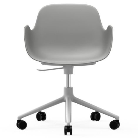 Normann Copenhagen Form Bürostuhl/Drehstuhl mit Rollen Swivel Grey/White