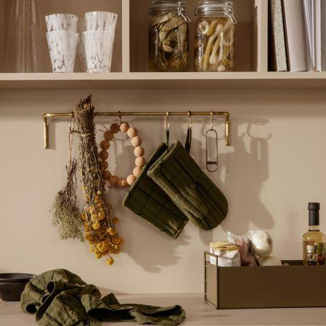 ferm LIVING Kleine Plant-Box Olive