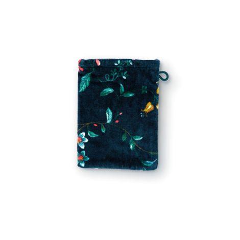 Pip Studio Handtücher Les Fleurs Dark Blue