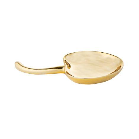 Bloomingville Tablett Kirsche Gold •