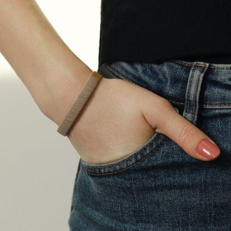 Dansk Smykkekunst Armband Bast Ursula Vergoldet