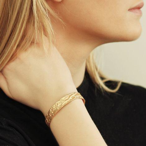 Dansk Smykkekunst Amber Armband Versilbert
