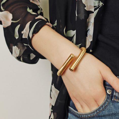 Dansk Smykkekunst Armband Tara Spinning Hämatitüberzug •
