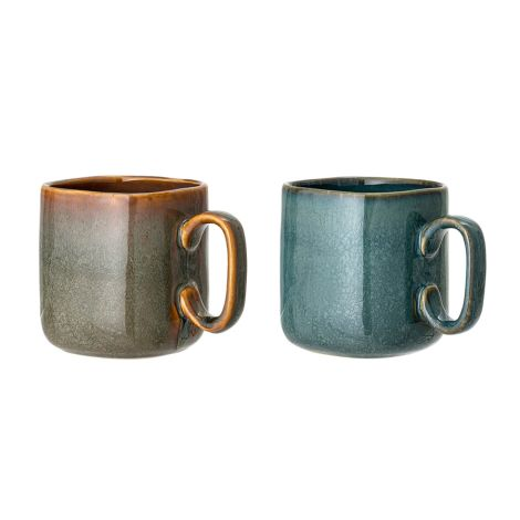 Bloomingville Tasse Aime Multi-Color 2er-Set