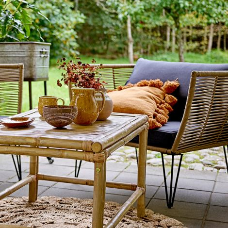 Bloomingville Sessel Lounge Mundo Brown