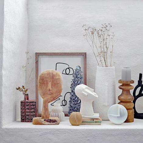 Bloomingville Vase White 14 cm