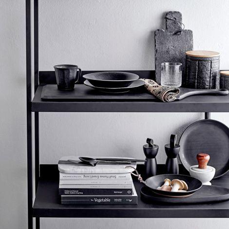 Bloomingville Schüssel Yoko Black 13,5 cm 4er-Set