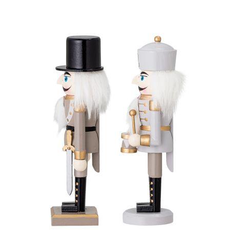 Bloomingville Deko-Figur Nussknacker Darren Gold 2er-Set