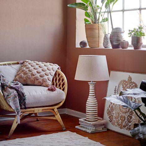 Bloomingville Lounge Chair Natali Nature