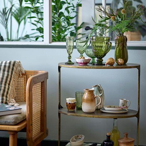 Bloomingville Schüssel Florie Green 4er-Set