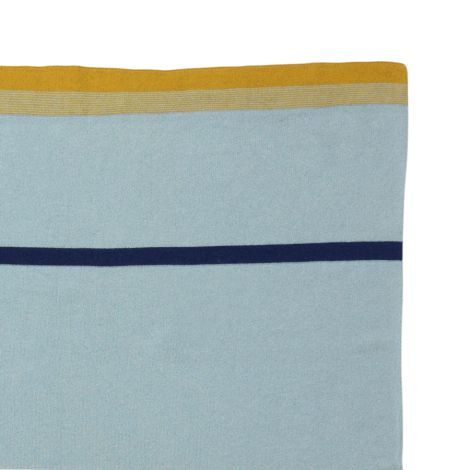 ferm LIVING Tagesdecke Little Stripy Blue •