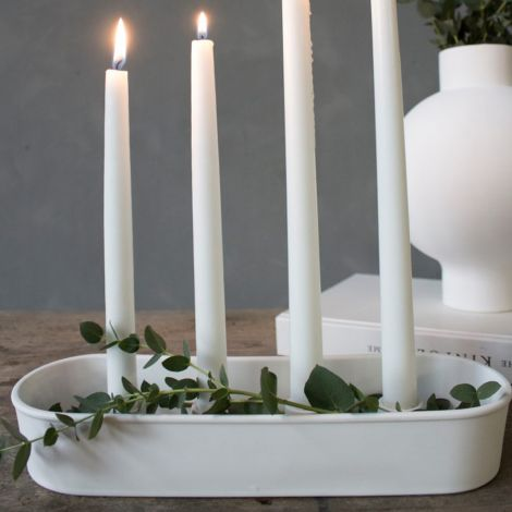 Storefactory Kerzenhalter Advent Granbäcken White
