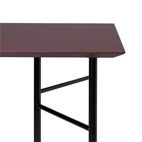 ferm LIVING Tischplatte Mingle Bordeaux - In verschiedenen Größen