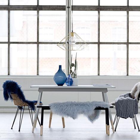 Bloomingville Tisch Schwarz