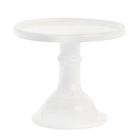 Miss Étoile Tortenplatte Weiß klein
