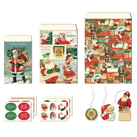 Cavallini Päckchenset Christmas Santa •