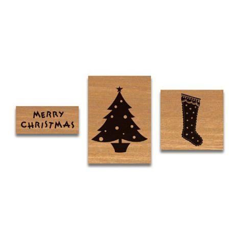 Cavallini kleines Stempelset Vintage Christmas •