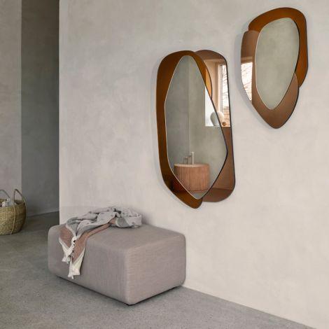 Broste Copenhagen Spiegel Layer Caramel 76 cm