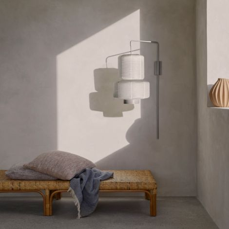 Broste Copenhagen Wandlampe William White
