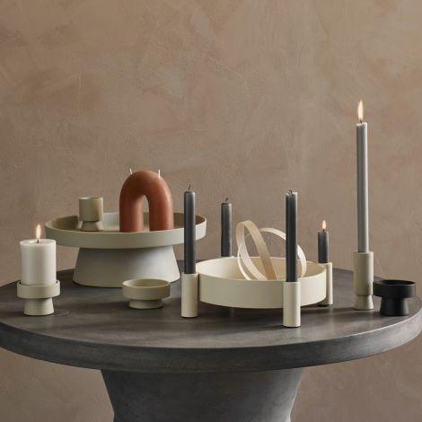 Broste Copenhagen Stabkerze Rustik Terracotta 8er-Set