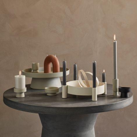 Broste Copenhagen Kerzenständer Silke Alu Rainy Day 18 cm