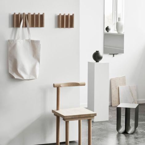 Kristina Dam Studio Aufbewahrungsgefäß Wooden Sphere Black XL