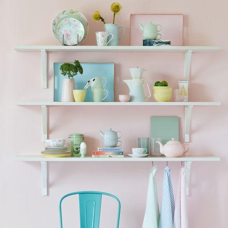 GreenGate Wasserglas Allover Pale Pink Cutting Small