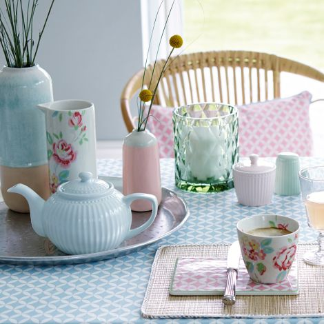 GreenGate Zuckerdose Alice Pale Green