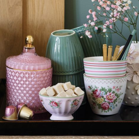 GreenGate French Bowl Aurelia Pale Pink M