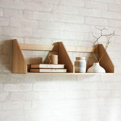 FDB Møbler B5 Regal Natur 80 cm