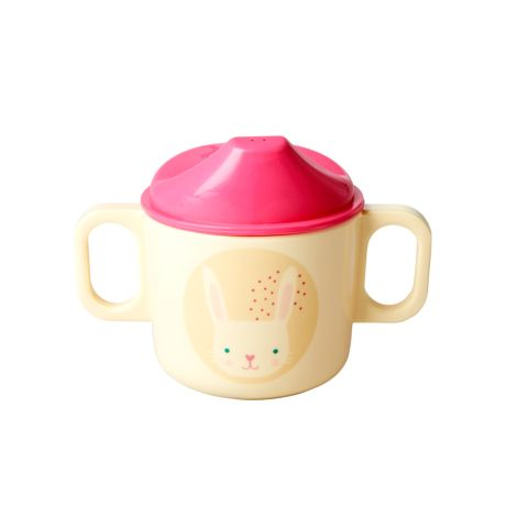 Rice Baby Melamin-Geschirr Geschenkbox Rabbit 4er-Set