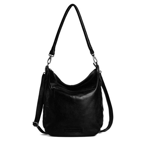 Sticks and Stones Ledertasche Bali Black