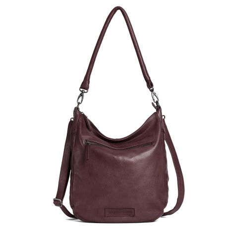 Sticks and Stones Ledertasche Bali Burgundy