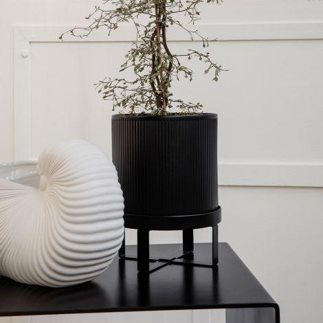ferm LIVING Pflanzgefäß Bau Pot Large Black
