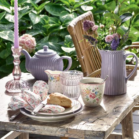 GreenGate Eierbecher Alice Lavender