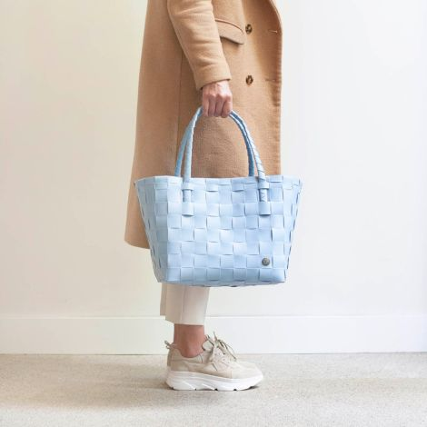 Handed By Shopper Paris Faded Blue