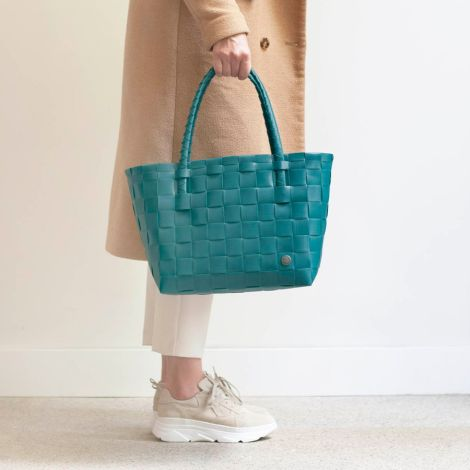 Handed By Shopper Paris Peacock Green