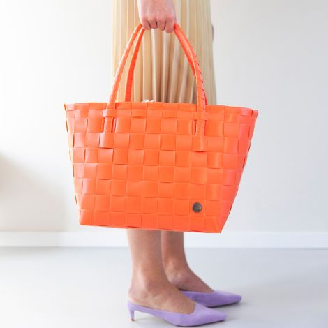 Handed By Tasche Shopper Paris Coral Orange