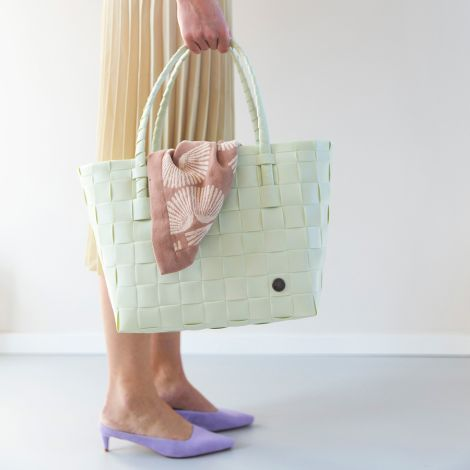 Handed By Tasche Shopper Paris Mint Green