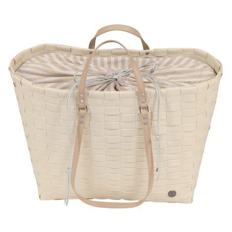 Handed By Shopper Go mit Cover zum Zuziehen Cream White