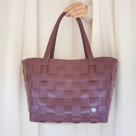 Handed By Shopper Color Match Wine Berry Red