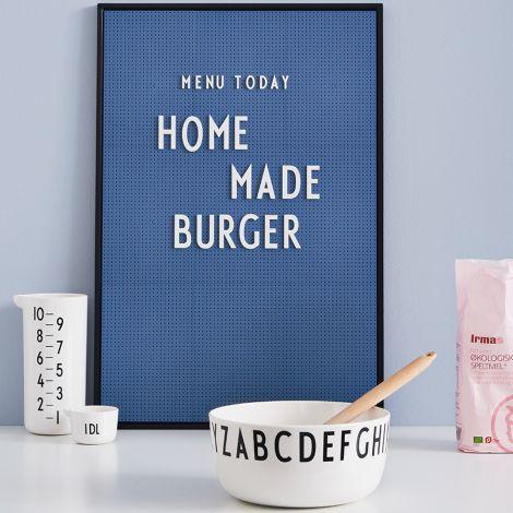 Design Letters Großes Buchstaben-Set für Messageboard White - 132 Teile