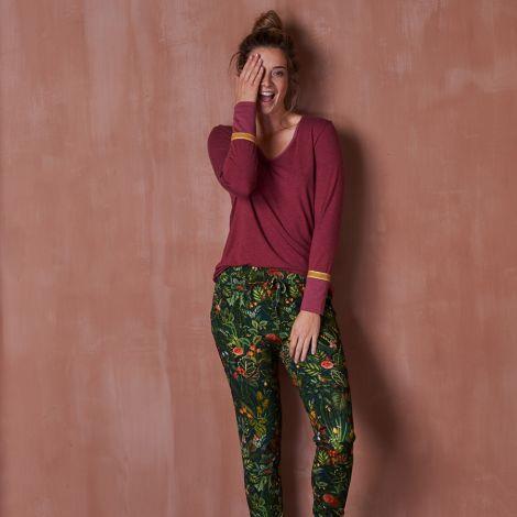 PIP Studio Langarm-Shirt Trix Melee Red S