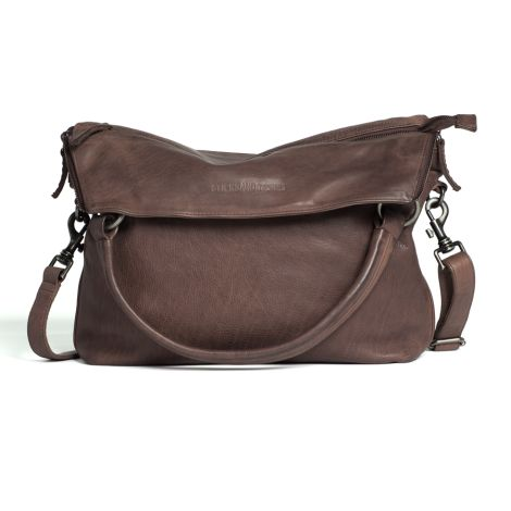 Sticks and Stones Ledertasche Brisbane Taupe •