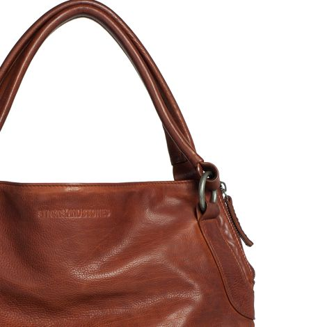Sticks and Stones Ledertasche Brisbane Mustang Brown