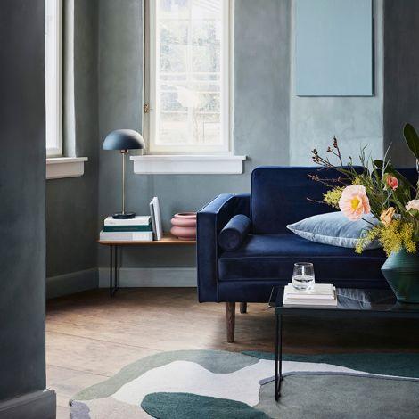Broste Copenhagen Sofa Wind Insignia Blue