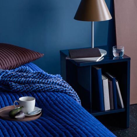 Broste Copenhagen Nachttisch Rechts Tenna Maritime Blue