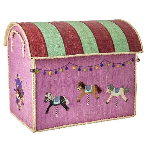 Rice Spielzeugkorb Carousel M