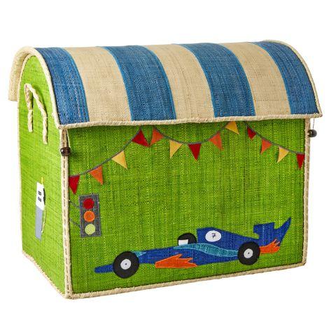 Rice Spielzeugkorb Race Car