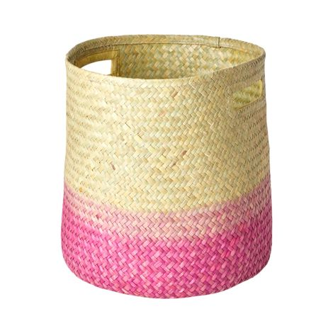 Rice Aufbewahrungskorb Gradient Pink